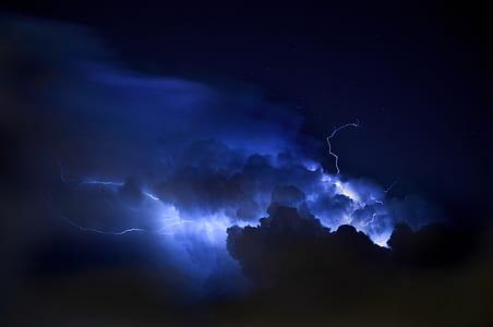 lighting thunderstorm