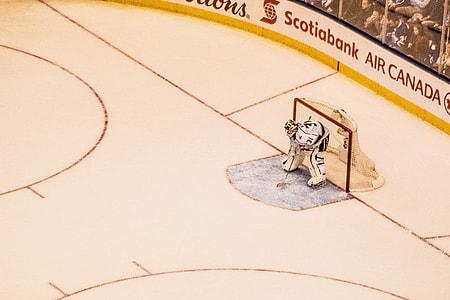 Ice hockey match in Canada