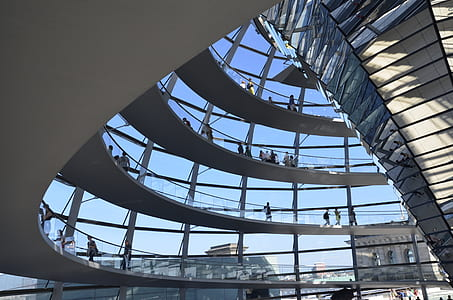 berlin, reichstag, building, architecture