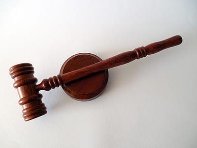 brown wooden court gavel