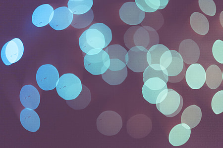 Violet Abstract Bokeh Lights