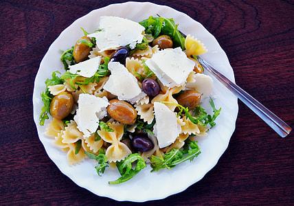 salad food on plate