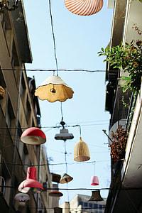 assorted hanging light