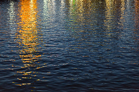 Water Sunset in the Golden Hour