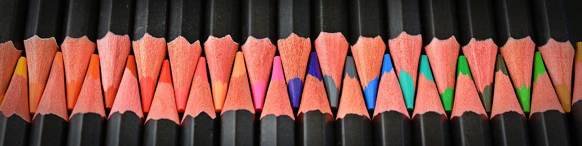 color pencils illustration