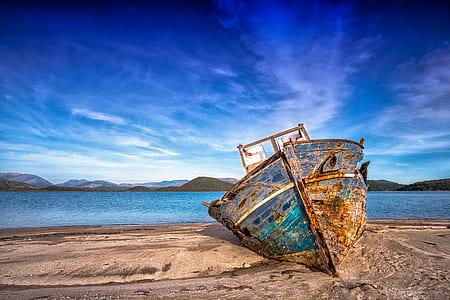 boat on shore