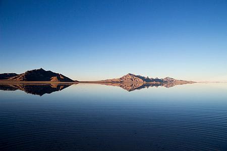 panoramic photo of mountain and sea