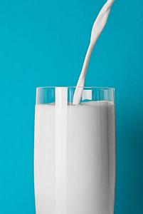 Glass Milk Drink Minimal