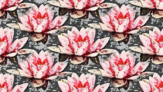 pink petal flower artwork