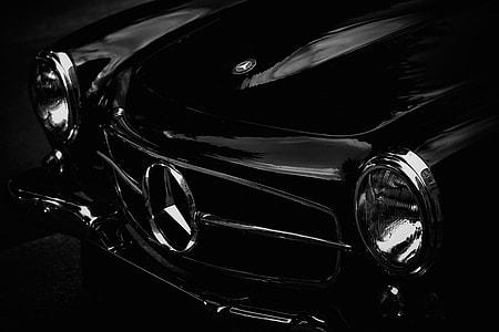 Classic Mercedes car