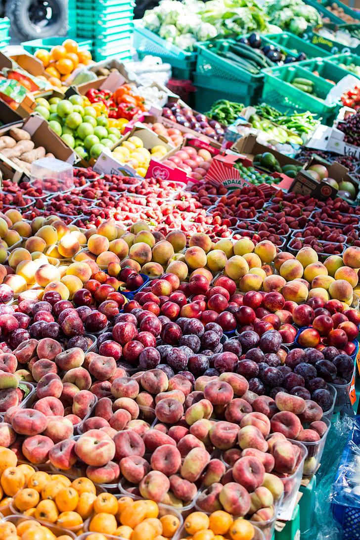 Summer Fruit Market