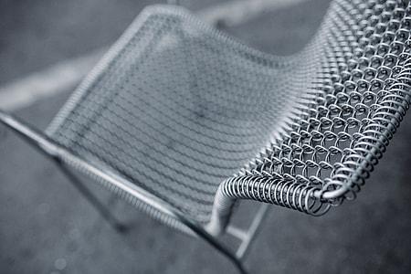 Retro Metal Dining Chair