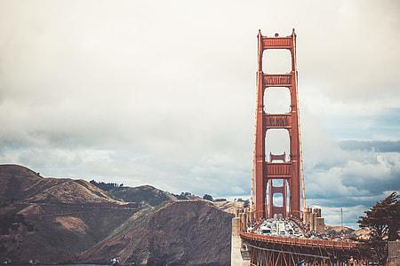 Front View of Golden Gate Bridge