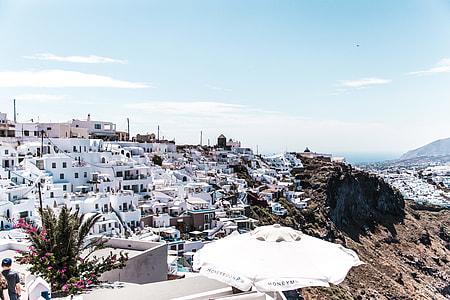 The Greek Island.