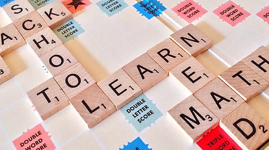 school to learn read math scrabble words