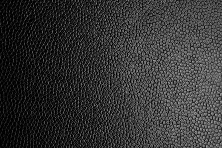 black leather surface