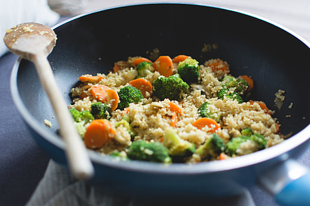 Colorful & Healthy Couscous Dinner