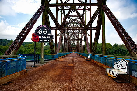 structural photography of grey suspension bridge