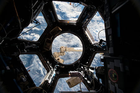 interior of spacecraft photography