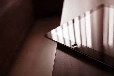 Corner of the iPad