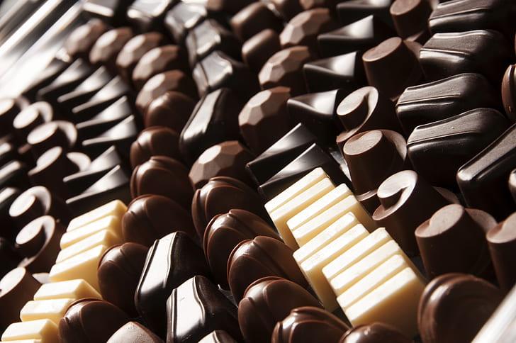 chocolates and milk flavor chocolates