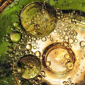 water bubbles illustration