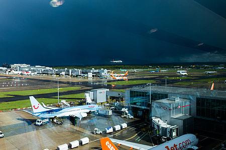 Airport Sun Storm