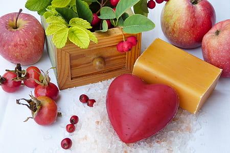 several ripe fruits