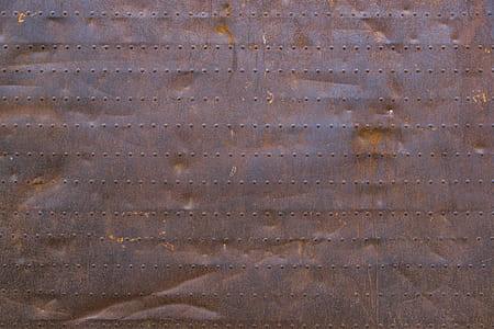 brown metal board