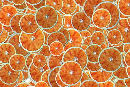 slices of orange wallpaper