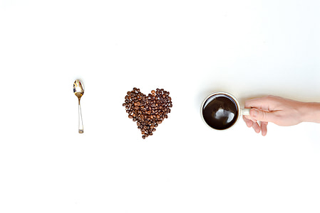 I Love Coffee Message