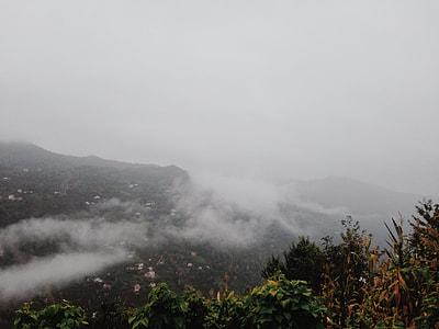 mountain range photography
