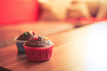 Tasty & Colorful Muffins
