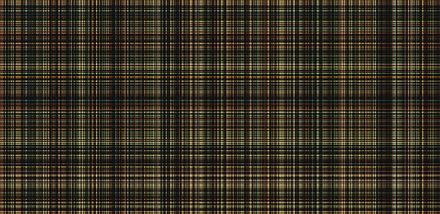 green, black, and yellow plaid textile