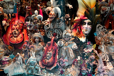 photo of assorted doll and marionette collections