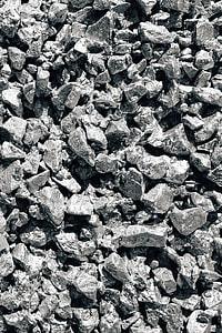 Silver rock wall