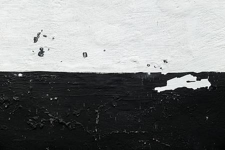 black and white textile