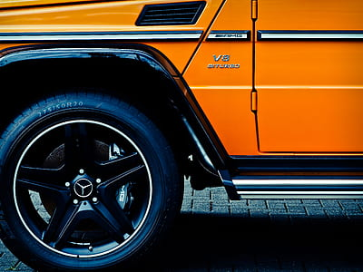 Mercedes Benz Black 5 Spoke Car Wheel