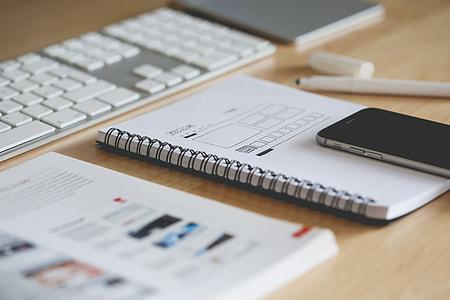 iPhone & Web Design Wireframes