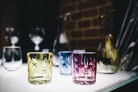 Luxury handmade crystal glass