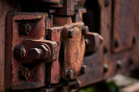 stainless, wagon, trains, railway, old, rusted