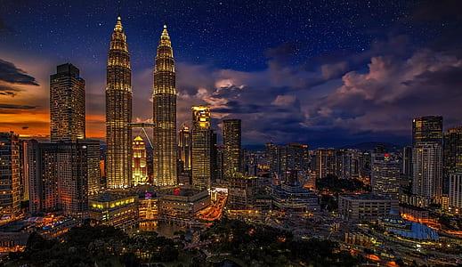 Petronas Twin Tower in Malaysia