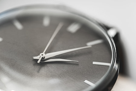 Simple & Classy Silver Watches Close Up