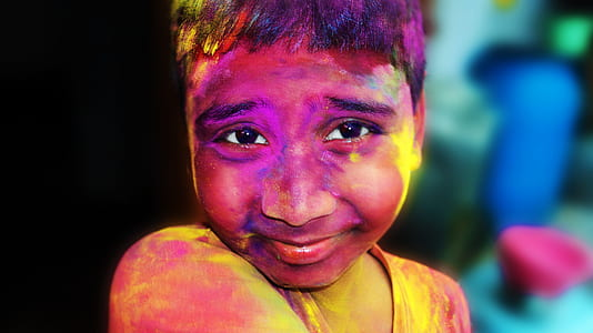 holi, india, vivid, holiday, culture, color