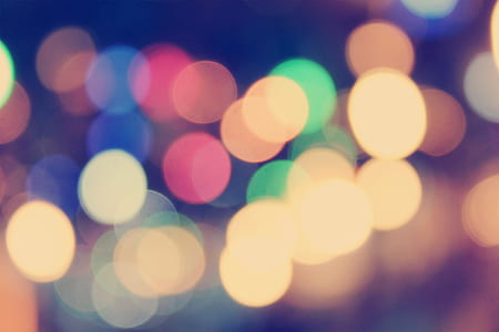 bokeh, lights, blurry, blur, effect, night