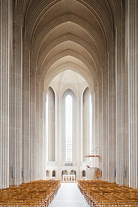 cathedral aisle photo