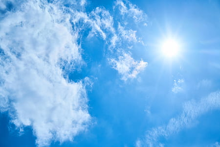 blue sky with clouds during daytime