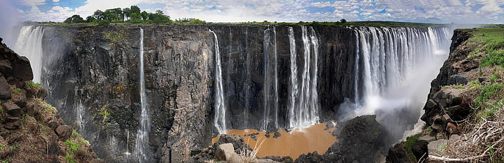 waterfalls Panorama photography