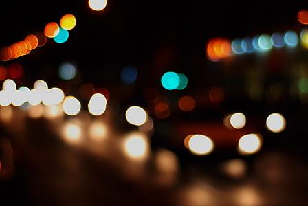 Yellow Green and Orange Lights