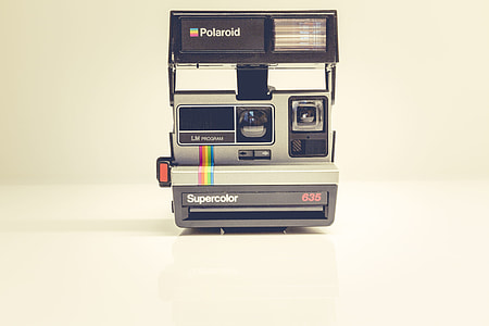 Retro Polaroid Supercolor Camera